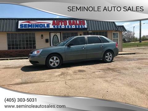 2004 Chevrolet Malibu Maxx for sale at Seminole Auto Sales in Seminole OK