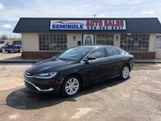 2016 Chrysler 200 for sale at Seminole Auto Sales in Seminole OK