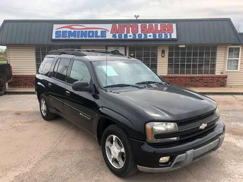2004 Chevrolet TrailBlazer EXT for sale at Seminole Auto Sales in Seminole OK