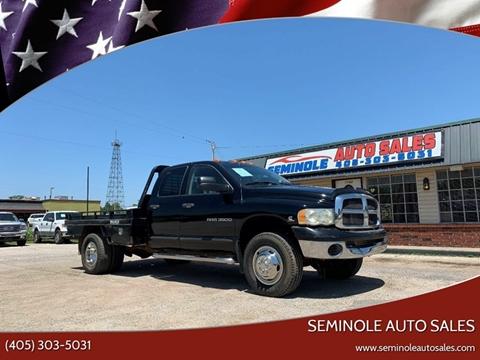 2003 Dodge Ram Pickup 3500 for sale at Seminole Auto Sales in Seminole OK