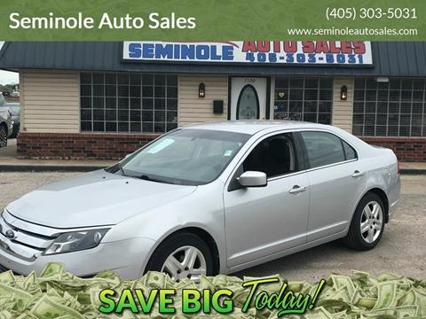 2010 Ford Fusion for sale at Seminole Auto Sales in Seminole OK