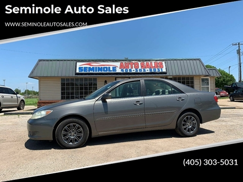 2006 Toyota Camry for sale at Seminole Auto Sales in Seminole OK