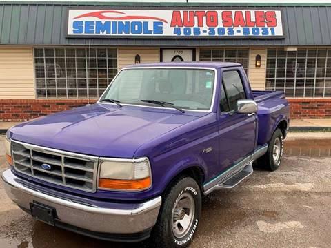1995 Ford F-150 for sale in Seminole, OK