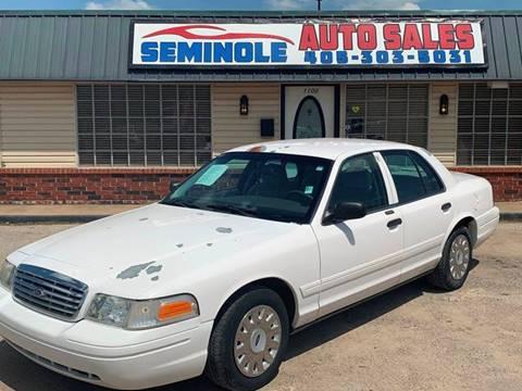 2004 Ford Crown Victoria for sale at Seminole Auto Sales in Seminole OK