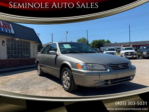 1999 Toyota Camry for sale at Seminole Auto Sales in Seminole OK