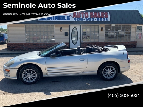 2001 Mitsubishi Eclipse Spyder for sale at Seminole Auto Sales in Seminole OK