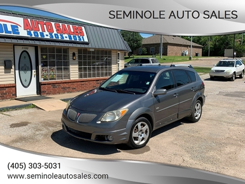 2005 Pontiac Vibe for sale at Seminole Auto Sales in Seminole OK