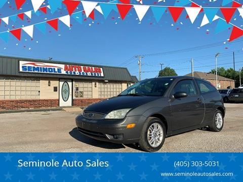 2005 Ford Focus for sale at Seminole Auto Sales in Seminole OK
