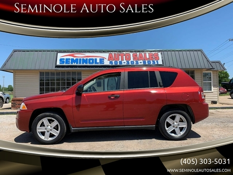 2007 Jeep Compass for sale at Seminole Auto Sales in Seminole OK