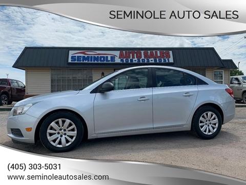 2011 Chevrolet Cruze for sale at Seminole Auto Sales in Seminole OK