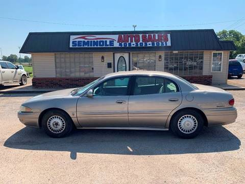 2002 Buick LeSabre for sale at Seminole Auto Sales in Seminole OK