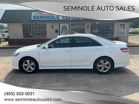 2011 Toyota Camry for sale at Seminole Auto Sales in Seminole OK