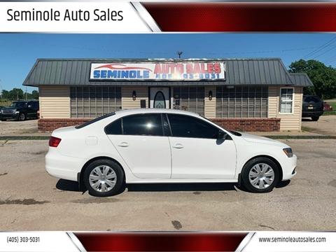 2012 Volkswagen Jetta for sale at Seminole Auto Sales in Seminole OK