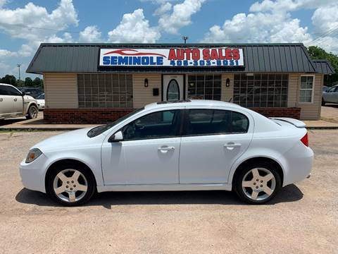 2010 Chevrolet Cobalt for sale at Seminole Auto Sales in Seminole OK
