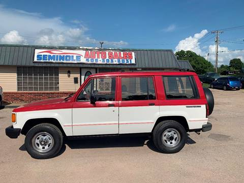 1988 Isuzu Trooper II for sale at Seminole Auto Sales in Seminole OK