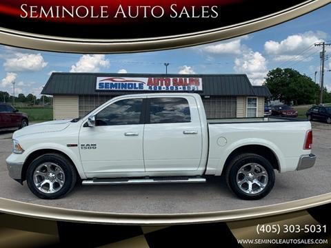 2018 RAM Ram Pickup 1500 for sale at Seminole Auto Sales in Seminole OK