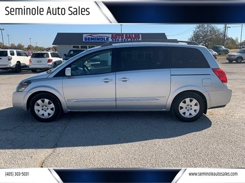 2006 Nissan Quest for sale at Seminole Auto Sales in Seminole OK
