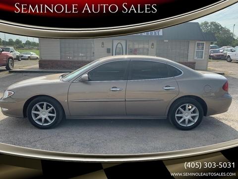 2006 Buick LaCrosse for sale at Seminole Auto Sales in Seminole OK