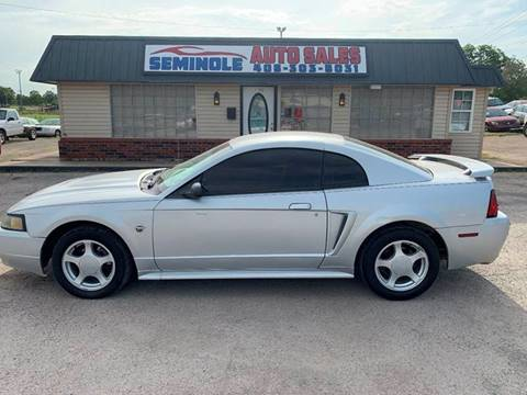 2004 Ford Mustang for sale at Seminole Auto Sales in Seminole OK