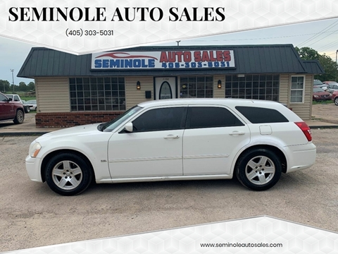 2006 Dodge Magnum for sale at Seminole Auto Sales in Seminole OK