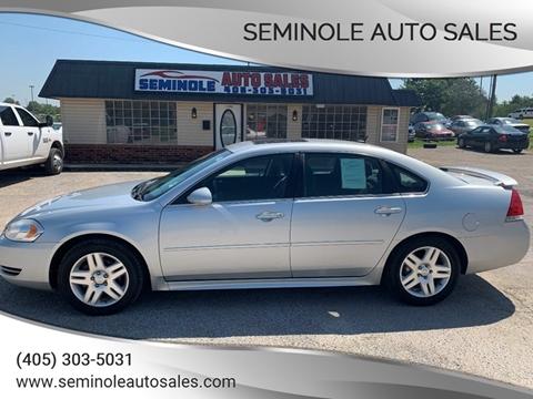 2012 Chevrolet Impala for sale at Seminole Auto Sales in Seminole OK