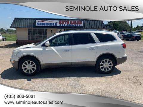 2011 Buick Enclave for sale at Seminole Auto Sales in Seminole OK