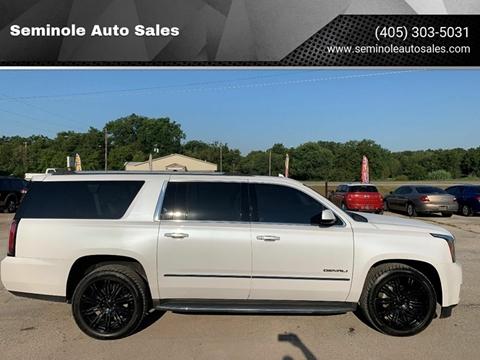2016 GMC Yukon XL for sale at Seminole Auto Sales in Seminole OK