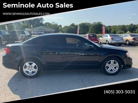 2013 Dodge Avenger for sale at Seminole Auto Sales in Seminole OK