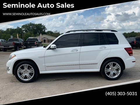2015 Mercedes-Benz GLK for sale at Seminole Auto Sales in Seminole OK