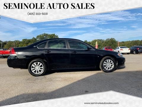2009 Chevrolet Impala for sale at Seminole Auto Sales in Seminole OK