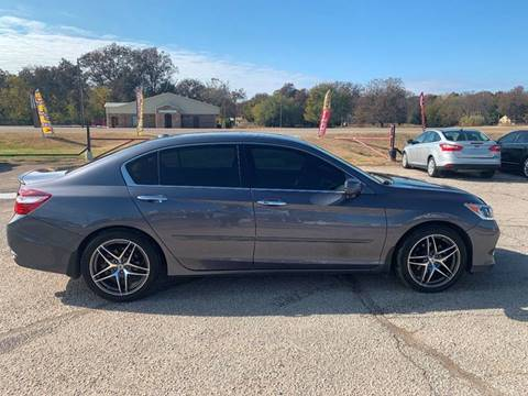 2016 Honda Accord for sale at Seminole Auto Sales in Seminole OK