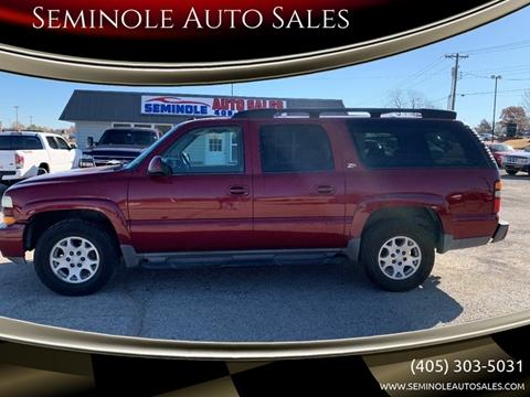 2004 Chevrolet Suburban for sale at Seminole Auto Sales in Seminole OK