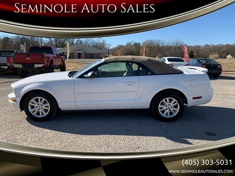 2006 Ford Mustang for sale at Seminole Auto Sales in Seminole OK