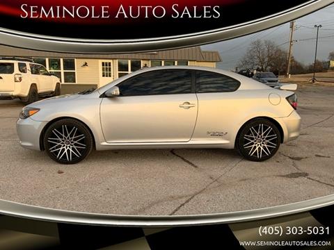 2008 Scion tC for sale at Seminole Auto Sales in Seminole OK