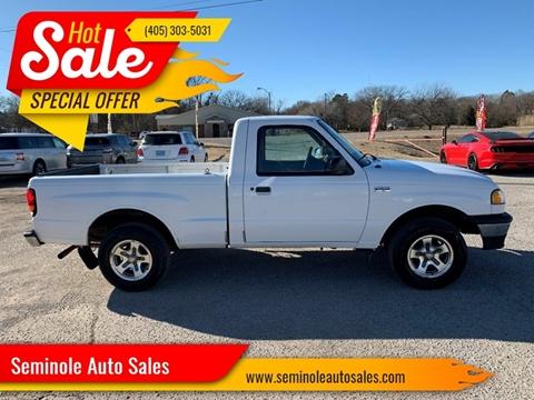 1999 Mazda B-Series Pickup for sale at Seminole Auto Sales in Seminole OK