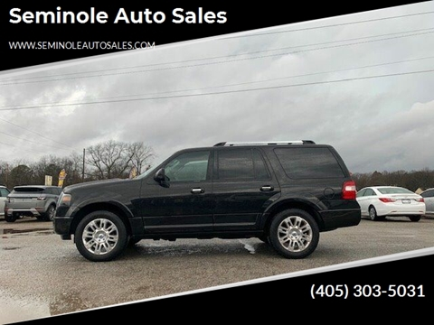 2012 Ford Expedition for sale at Seminole Auto Sales in Seminole OK