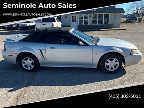 2000 Ford Mustang for sale at Seminole Auto Sales in Seminole OK