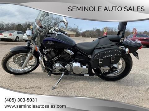 2003 Yamaha V-Star for sale at Seminole Auto Sales in Seminole OK