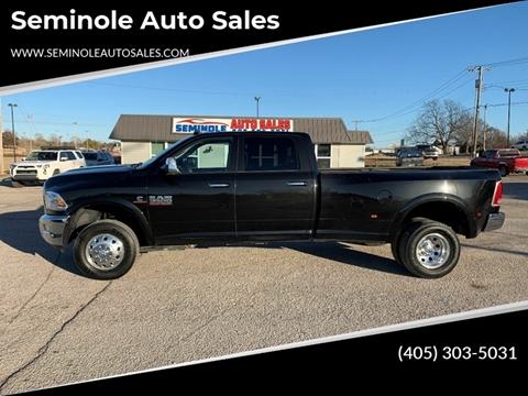 2018 RAM Ram Pickup 3500 for sale at Seminole Auto Sales in Seminole OK