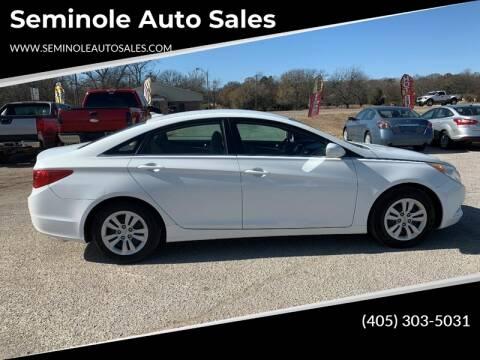 2011 Hyundai Sonata for sale at Seminole Auto Sales in Seminole OK
