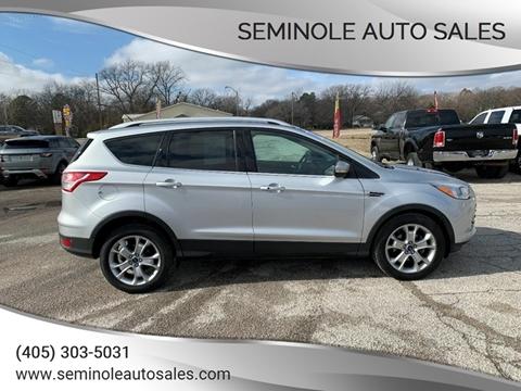 2014 Ford Escape for sale at Seminole Auto Sales in Seminole OK