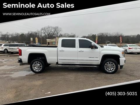 2017 GMC Sierra 2500HD for sale at Seminole Auto Sales in Seminole OK