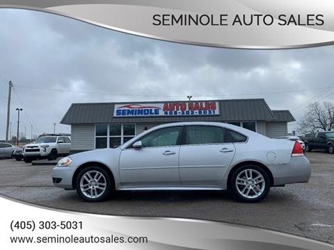 2015 Chevrolet Impala Limited for sale at Seminole Auto Sales in Seminole OK