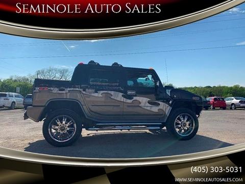 2005 HUMMER H2 SUT for sale at Seminole Auto Sales in Seminole OK