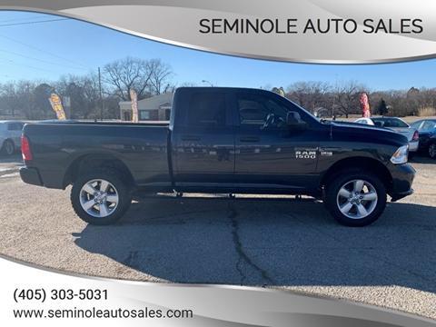 2014 RAM Ram Pickup 1500 for sale at Seminole Auto Sales in Seminole OK