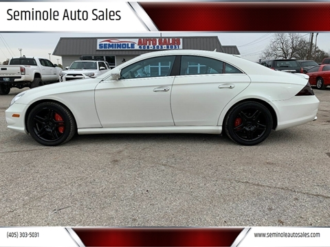 2007 Mercedes-Benz CLS for sale at Seminole Auto Sales in Seminole OK