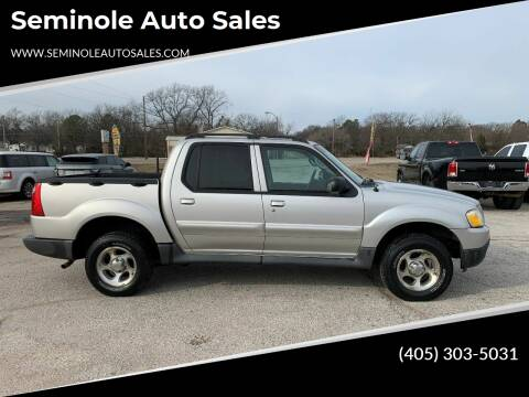 2005 Ford Explorer Sport Trac for sale at Seminole Auto Sales in Seminole OK
