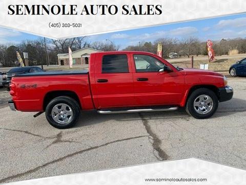 2005 Dodge Dakota for sale at Seminole Auto Sales in Seminole OK