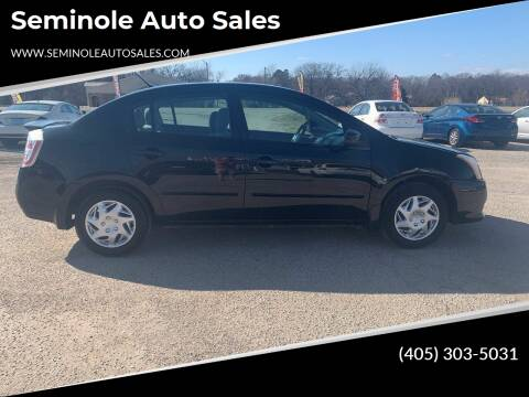 2012 Nissan Sentra for sale at Seminole Auto Sales in Seminole OK