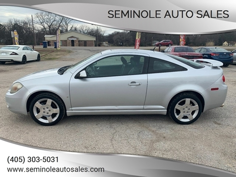 2008 Chevrolet Cobalt for sale at Seminole Auto Sales in Seminole OK